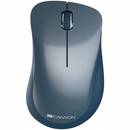 Canyon 2.4 GHz Wireless mouse with 3 buttons DPI 1200 Battery:AAA*2pcs Blue67*109*38mm