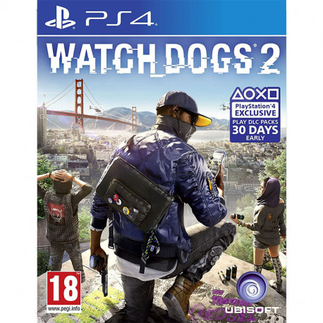 PS4 Watch Dogs 2 Stnd Edition