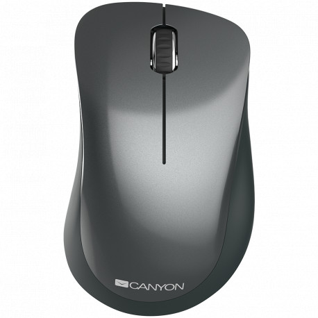Canyon 2.4 GHz Wireless mouse with 3 buttons DPI 1200 Battery:AAA*2pcsBlack67*109*38mm0.063kg