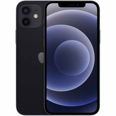 Apple iPhone 12 64GB Black (Super Retina XDR 6.1‑inch all‑screen OLED display 2532‑by‑1170-pixel resolution at
