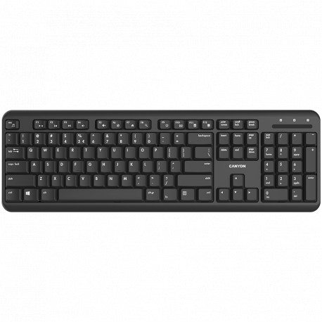 Wireless keyboard with Silent switches 105 keysblackSize 442*142*17.5mm460gAD layout