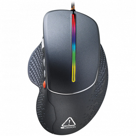 Wired High-end Gaming Mouse with 6 programmable buttons sunplus optical sensor 6 levels of DPI