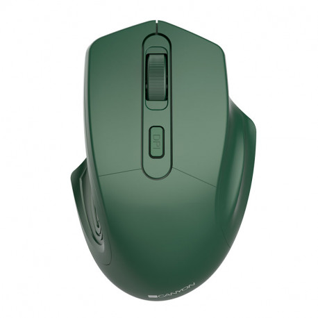 CANYON 2.4GHz Wireless Optical Mouse with 4 buttons DPI 800/1200/1600 Special military 115*77*38mm 0.064kg