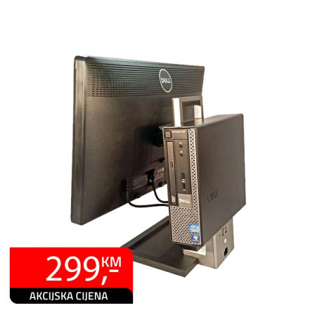 All In One računar Dell Optiplex 9020, Intel Core i3-4160 + Dell P2213 22""