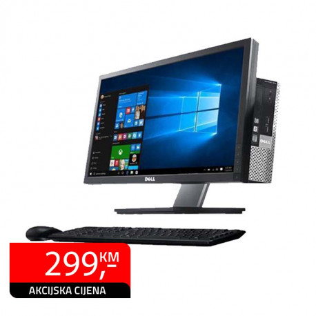 All In One računar Dell Optiplex 7010, Intel Core i3-3320 + Dell P2213 22""