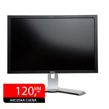 "Monitor Dell 2408WFP, 24"" LCD, Full HD"