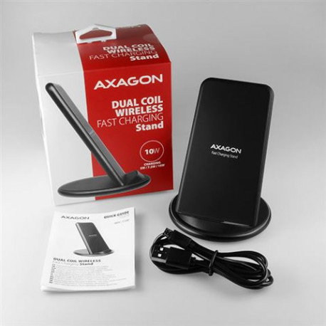 MOB AXA WDC-S10D dual coil Wireless Fast Charging Stand