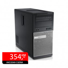 Računar Dell Optiplex 790, Intel Core i5-2400 + monitor BenQ FP222WH