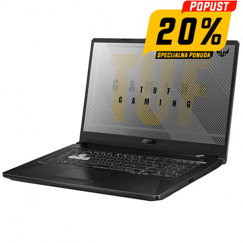 Gaming Laptop ASUS TUF F17 FX706LI-HX177, 17,3'' Full HD, Intel i7-10870H