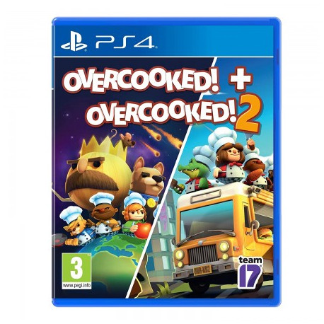 Overcooked and Overcooked 2 /PS4