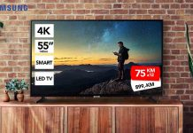 samsung televizor 55