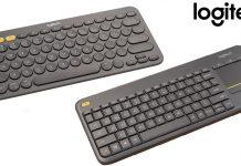 Logitech K380 and Logitech K400