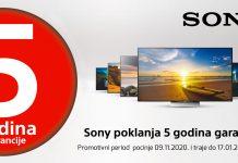 sony tv garancija