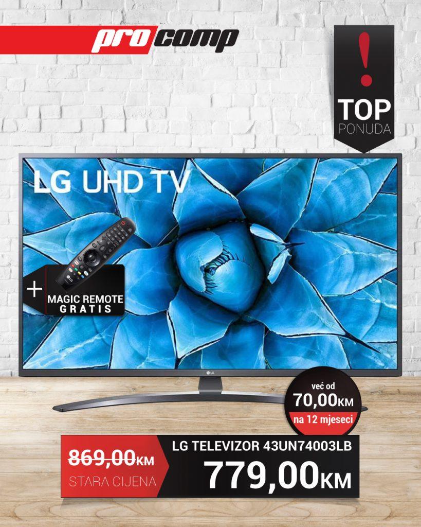 Akcija LG UHD Tv