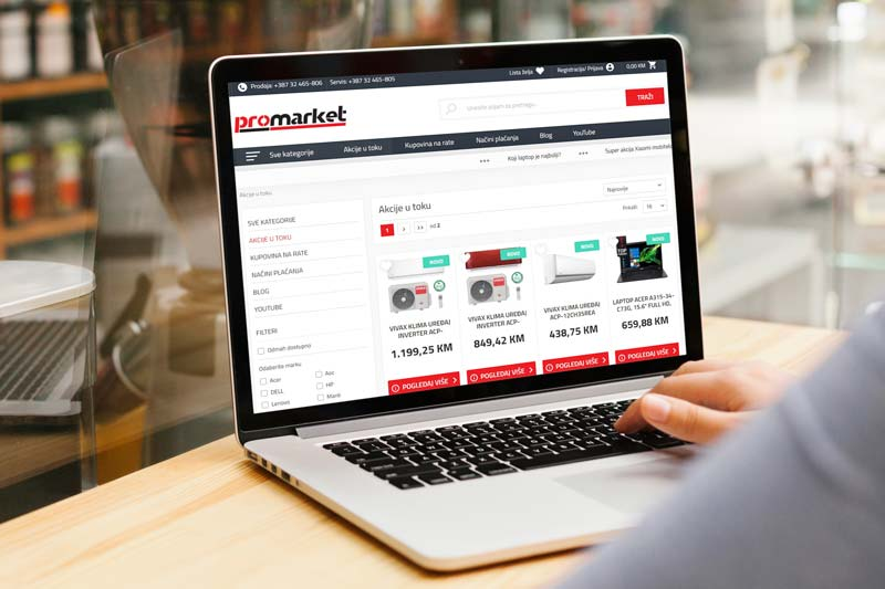 Promarket.ba laptop