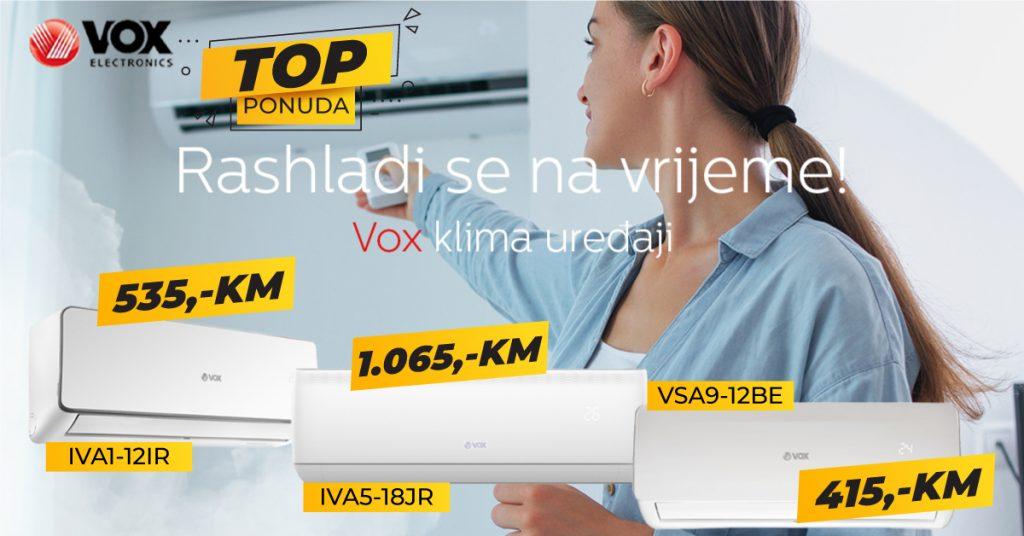 Vox klima uređaji