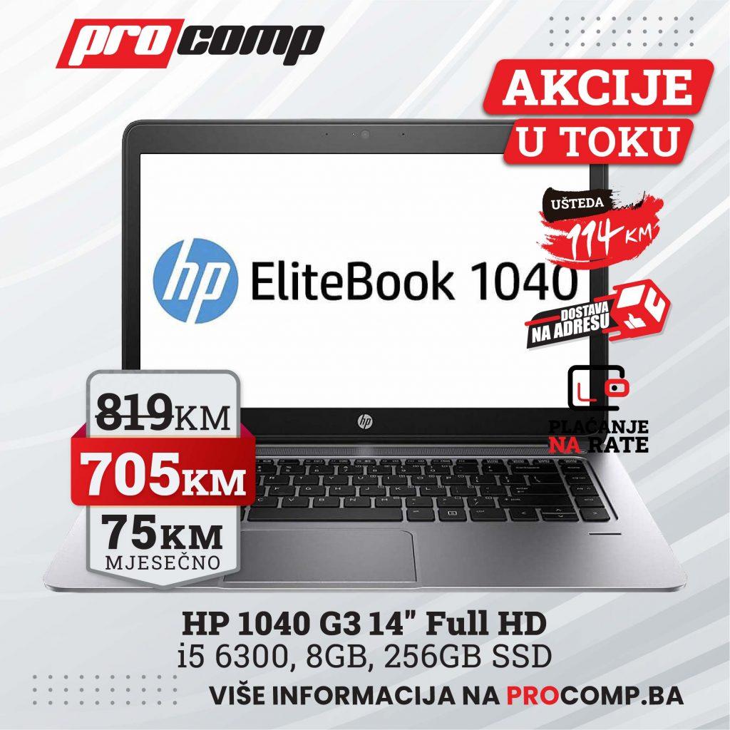 Hp Ultrabook 1040 G3