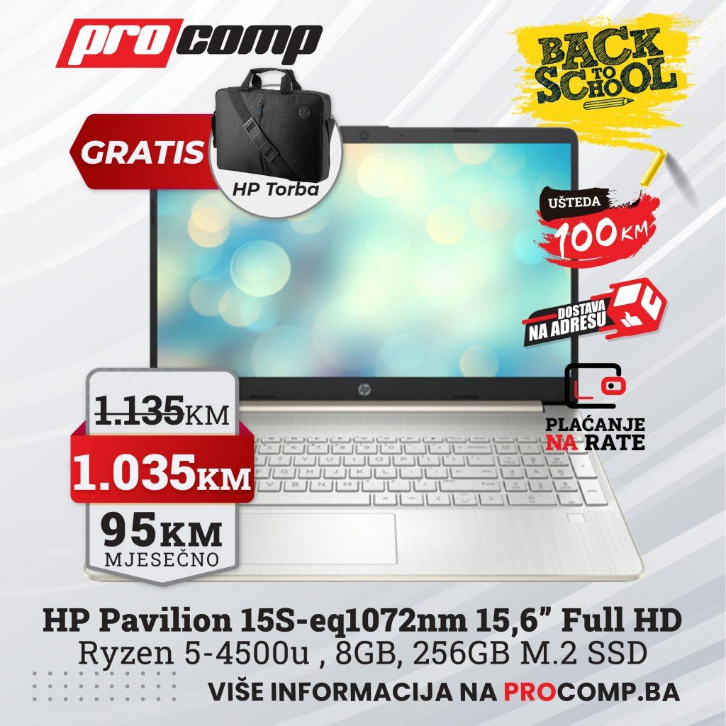 HP 15s-eq1072nm