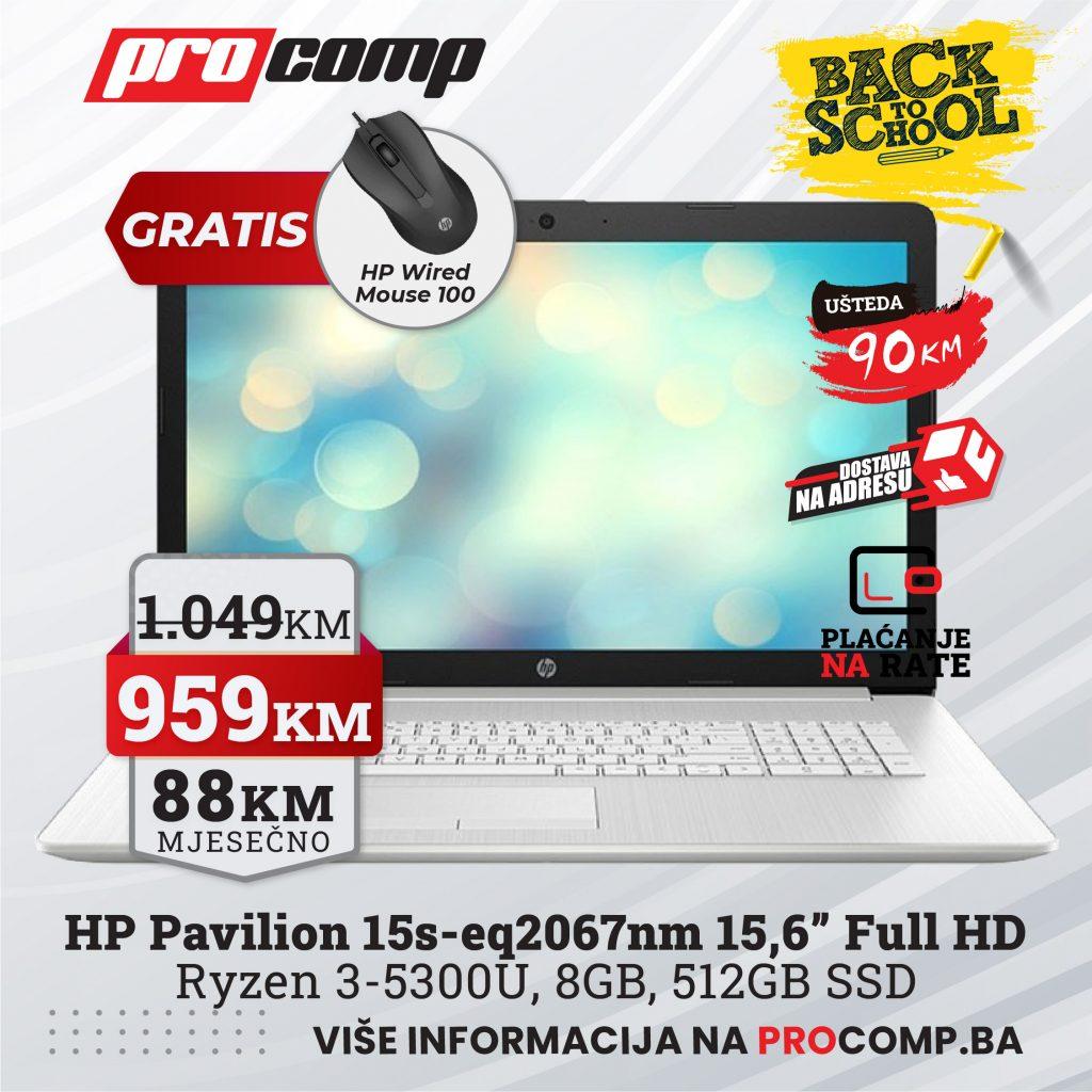HP Pavilion 15s-eq2067nm
