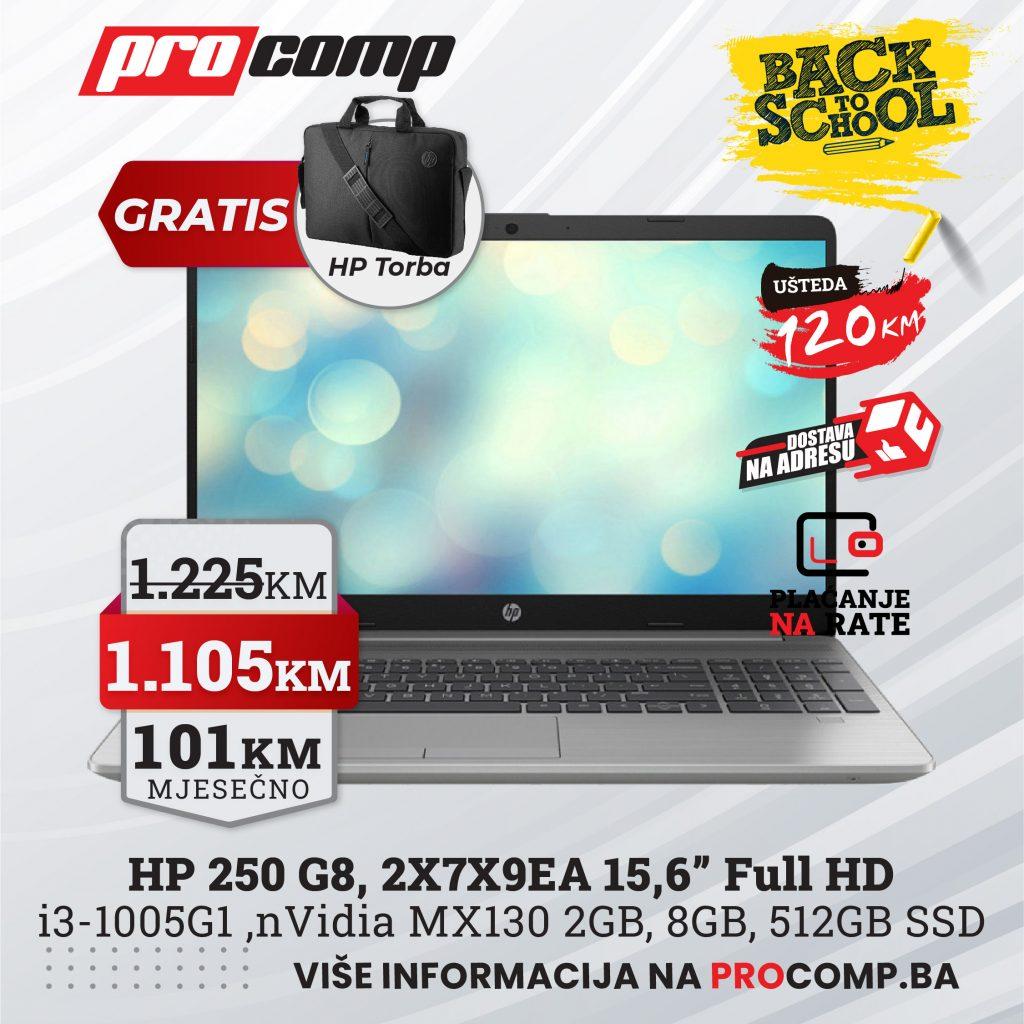 Gaming HP 250 G8 2X7X9EA